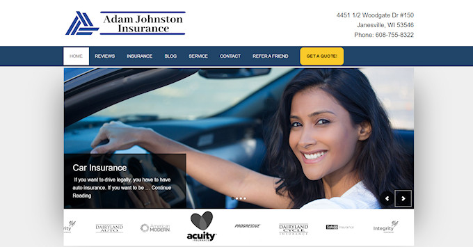 Adam Johnston Website